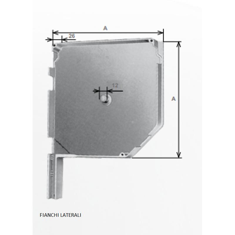 Cassonetti Esterni Per Avvolgibili.Cassonetto Esterno Per Avvolgibili In Alluminio Per Tapparelle Esterne