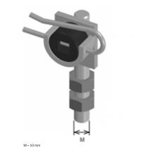 Supporto motore tapparella regolazione verticale
