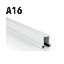 Guida alluminio per tapparelle A16