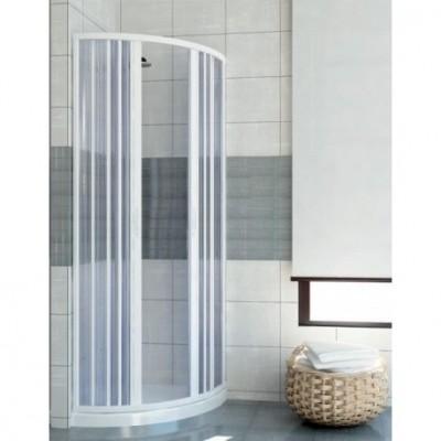 box doccia semicircolare porta soffietto
