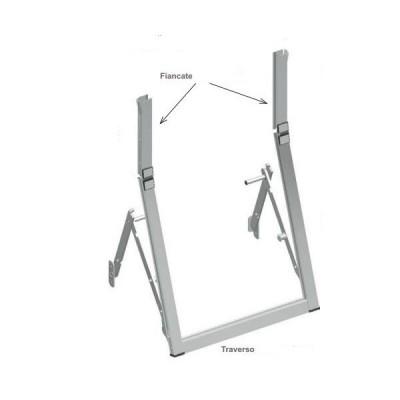 Tapparelle telaio a sporgere - Guide alluminio tapparelle