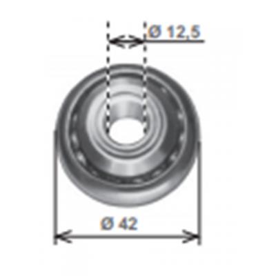 Cuscinetto diametro 42 con boccola in ferro