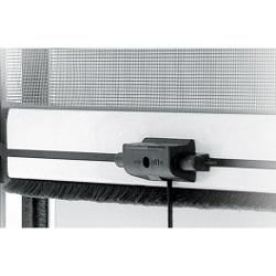 zanzariera su misura verticale chiusura cricchetto